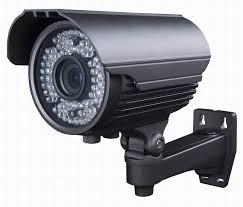 מצלמות אבטחה עם לדים וכווני זום פוקוס